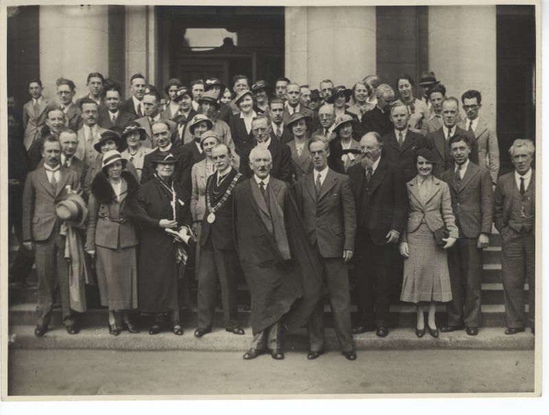 LAI Conference Delegates, UCD June 1935. Courtesy The Irish Times